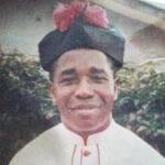Very Rev. Msgr. Emmanuel Durujinehu 28/4/73 Okwudor