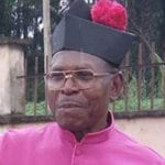 Very Rev. Msgr. Simeon Eboh 16/4/77 Isiekenesi
